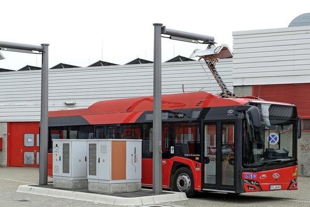 Freiburg steigt mit 17 E-Bussen ein