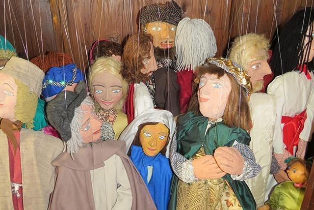 Rheinfelderin bastelt seit 40 Jahren Marionetten fürs Krippenspiel