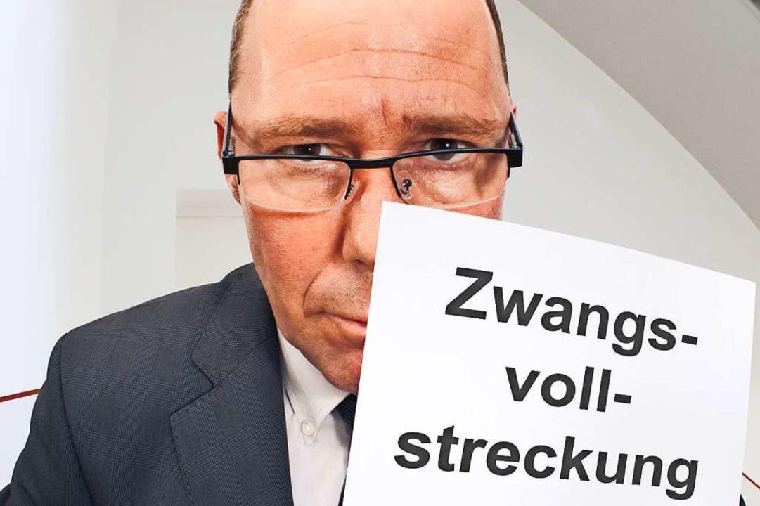 Wenn der Gerichtsvollzieher kommt, ist das nicht angenehm.  | Foto: Joachim Lechner  (stock.adobe.com)