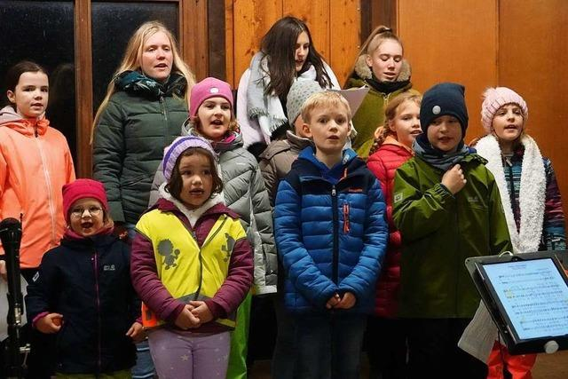 Gesangverein Wiechs: Open-Air-Nikolaussingen statt Jahreskonzert