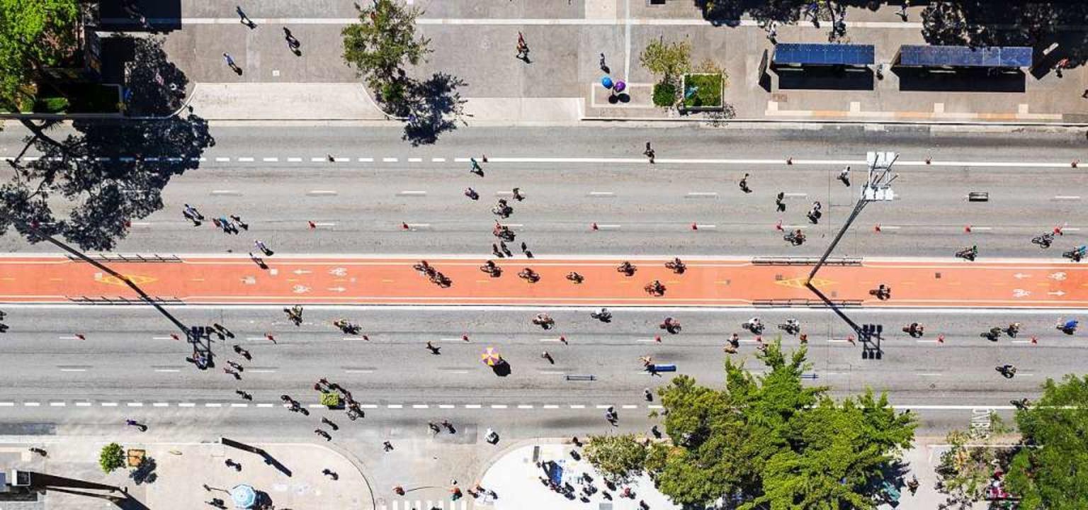 Bürgerentscheide sollen erwirken, dass...ssen, den der Autoverkehr übrig lässt.  | Foto: Adobe Stock / Willbrasil