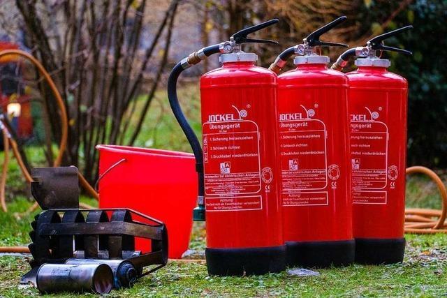 Feuer, Böller und die Risiken beim Brandfest des St. Elisabethen-Krankenhauses Lörrach