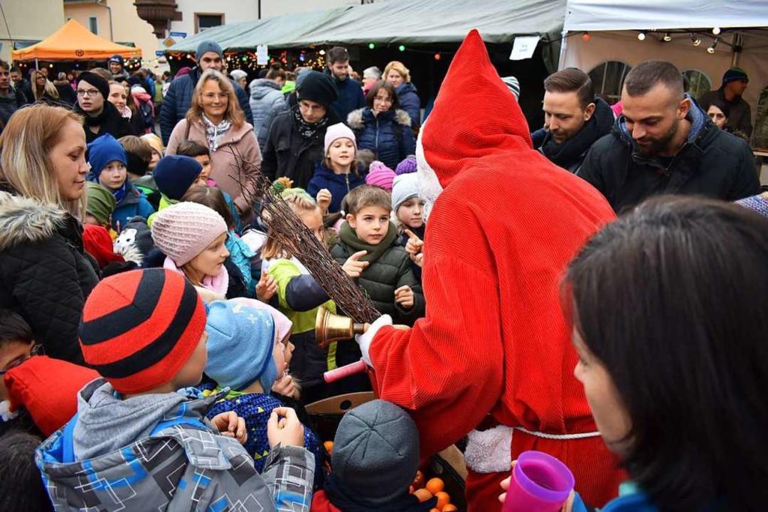 Adventsmarkt St. Agathe in Fahrnau  | Foto: Angelika Schmidt