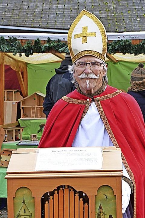 Adi Oberst als Nikolaus  | Foto: Horatio Gollin