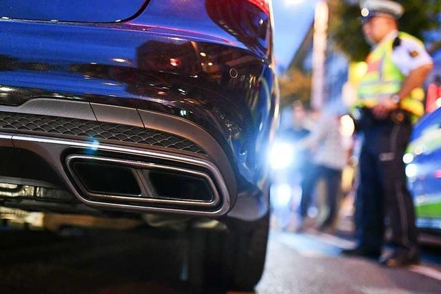 Polizei stoppt Raser mit 450 PS-Auto bei Rheinfelden