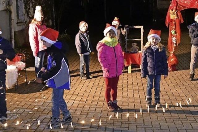 Lebendiger Adventskalender in Meißenheim