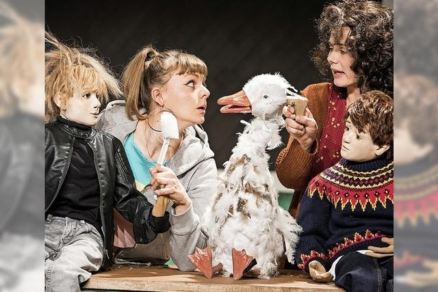 Puppentheater Halle spielt