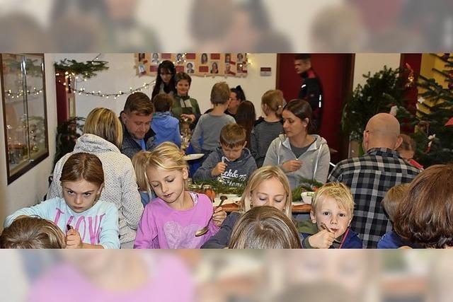 An Nikolaus gibt's mehr als 100 Essen in der Mensa