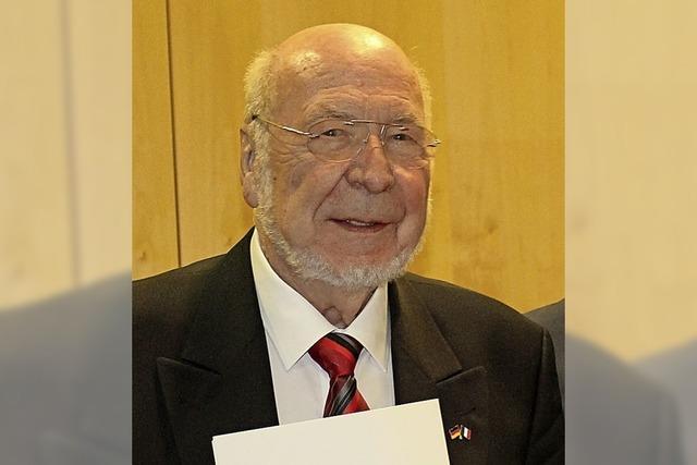 Staufermedaille für Franz Mayer