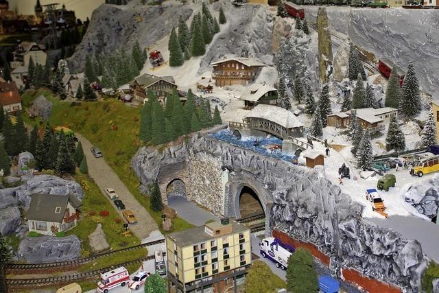 Ringsheim war Treffpunkt der Modelleisenbahnfreunde