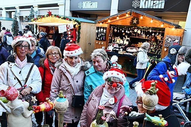 Anbieter sind fast wie eine Familie beim Weihnachtsmarkt Lörrach