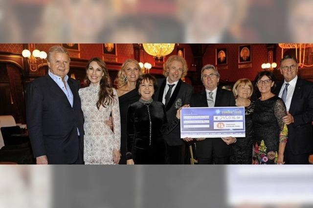 Fast eine Viertelmillion an Spenden