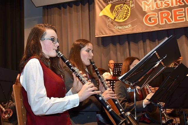 Jahreskonzert des Musikvereins Grenzach zeigt erfolgreiche Jugendarbeit