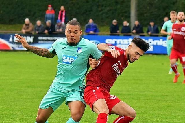Bahlinger SC unterliegt TSG Hoffenheim II und blickt dennoch mit Stolz auf das Fußballjahr 2019