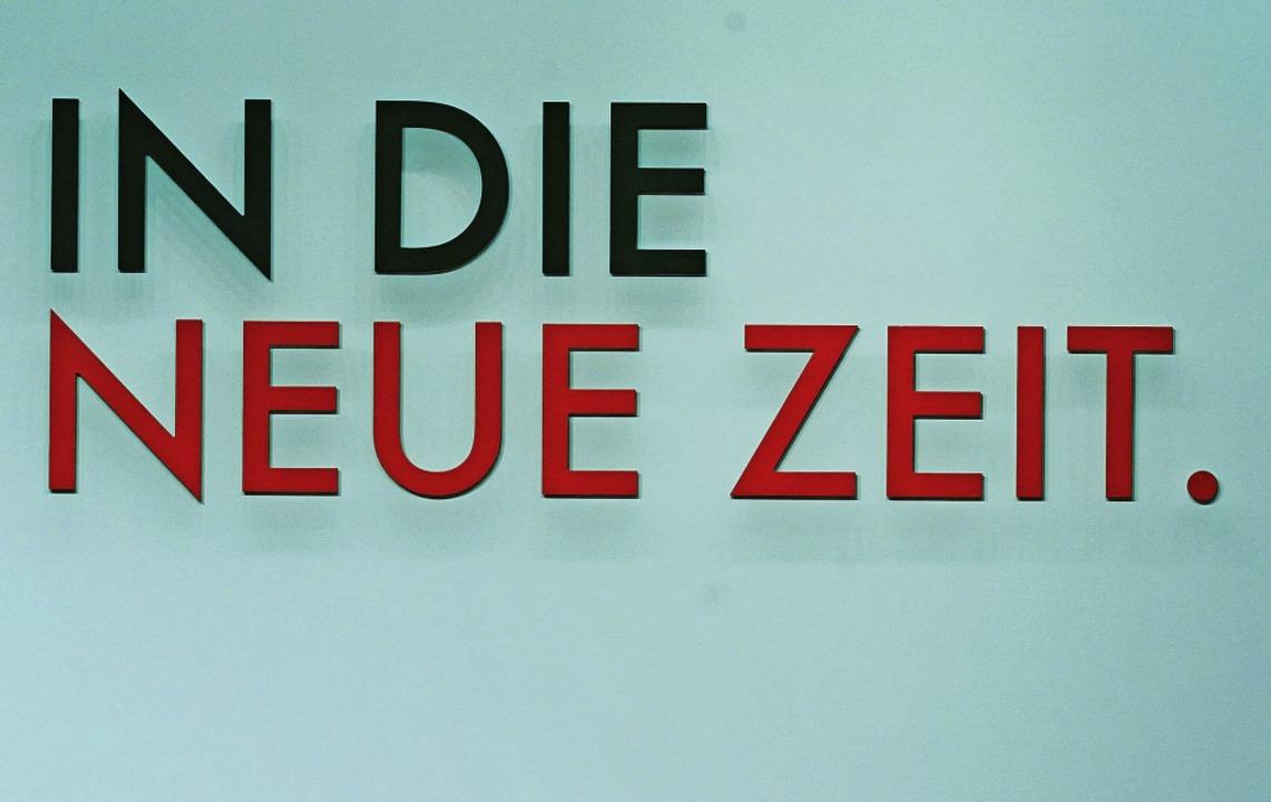 … müssen nicht nur die Sozialdem...em Parteitag am Wochenende in Berlin).    Foto: Kay Nietfeld (dpa)