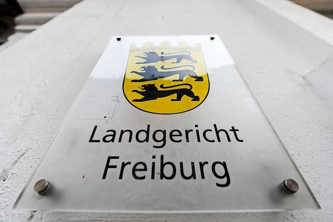 Das Landgericht Freiburg will am Montag sein Urteil verkünden.  | Foto: Patrick Seeger
