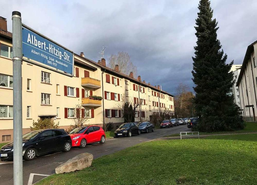 In der Lörracher Nordstadt hat ein Mann offenbar seine Nachbarin erstochen.  | Foto: Nina Witwicki