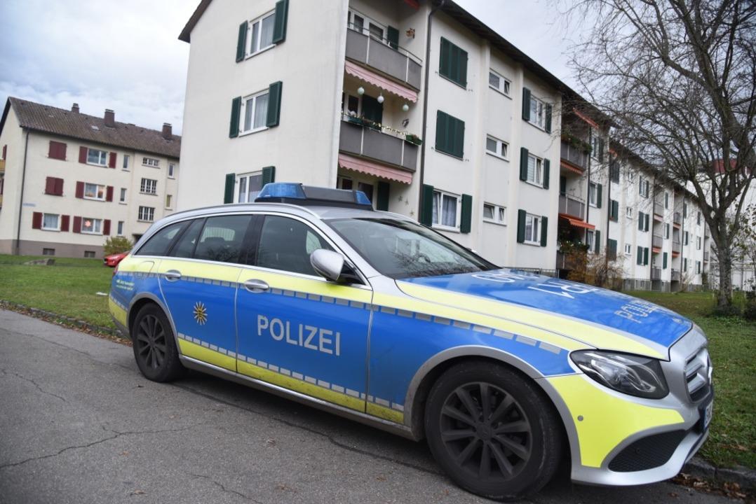 In der Lörracher Nordstadt hat ein Mann offenbar seine Nachbarin erstochen.  | Foto: BZ