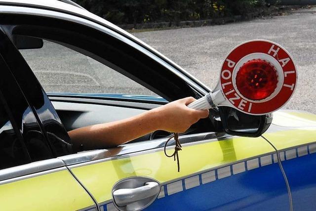 Ohne Fahrerlaubnis und betrunken unterwegs