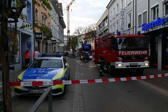 Ein Grill war die Ursache des Feuerwehreinsatzes in Lörrach
