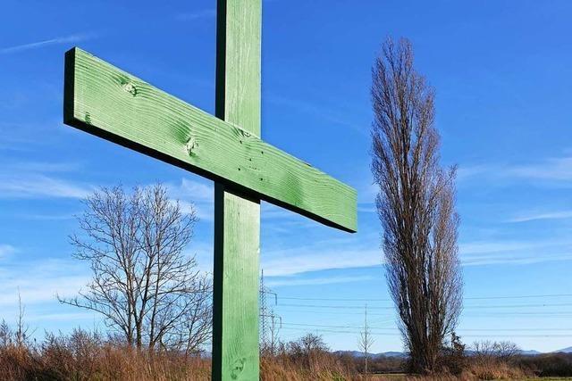 Die Grünen Kreuze des Bauernprotests: Reflexion über ein Symbol