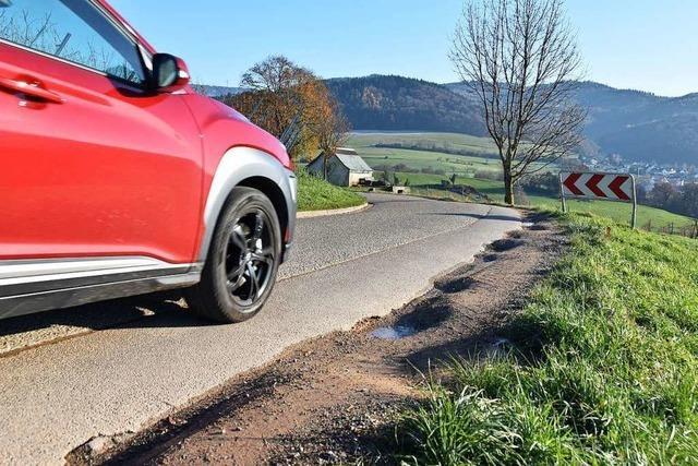 Straße zwischen Wittnau und Ebringen mehrere Tage gesperrt