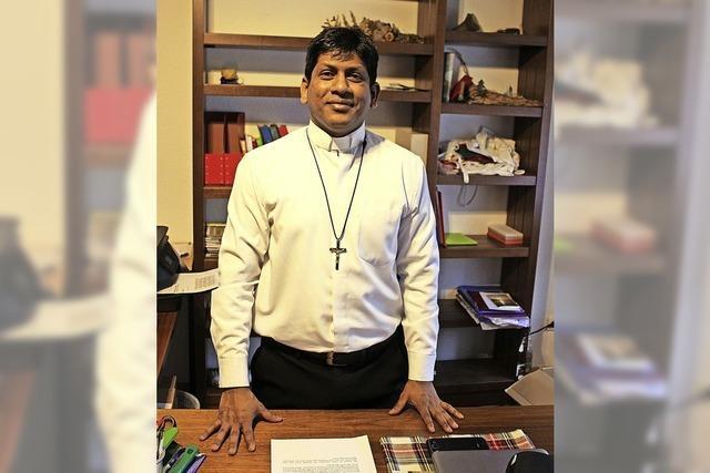 Von Indien auf Mission in Deutschland