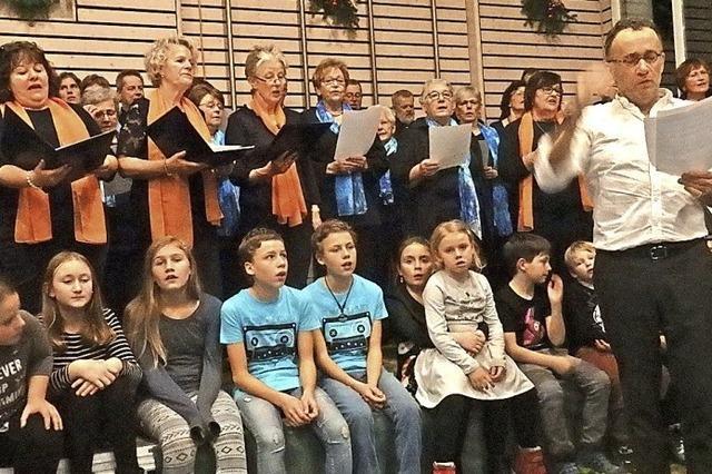 Weihnachtlich gestimmt beim Jahreskonzert in Schweighof