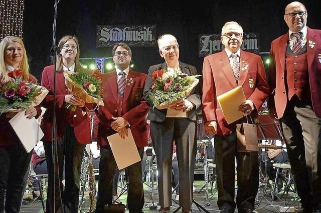 135 Jahre Treue zur Stadtmusik