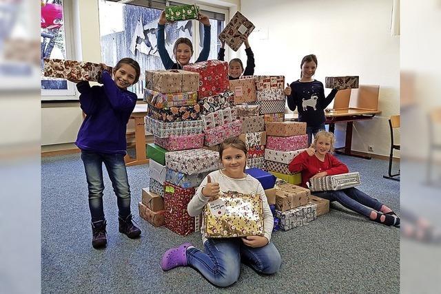 Geschenke für Rumänien