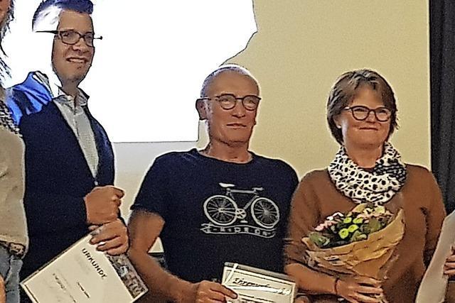 Langenauer Triathleten ehren ihre Zugpferde