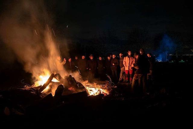Landwirte und Winzer entzünden Mahnfeuer – auch in Südbaden