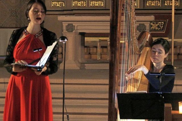 Ein Konzert der leisen Töne bei Kerzenschein