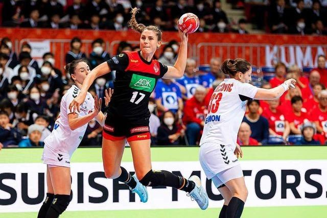 Noch ist für die Handballerinnen bei der WM alles drin