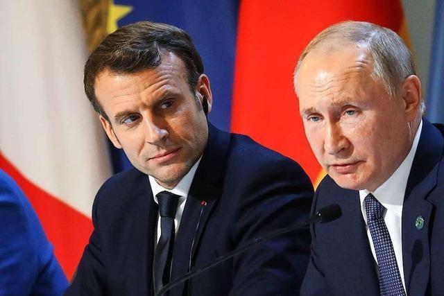 Macron sieht wichtige Fortschritte nach Ukraine-Gipfel