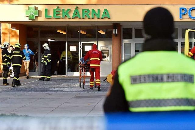 Sechs Tote nach Schüssen in Uni-Klinik in Tschechien