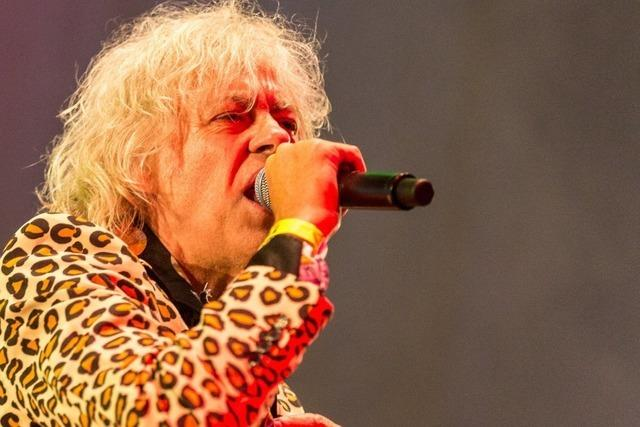 Patti Smith und Bob Geldof kommen zu
