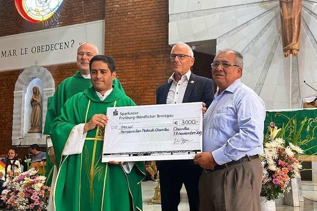 Gemeindepartnerschaft zwischen Freiburg und Peru feiert 30-jähriges Bestehen