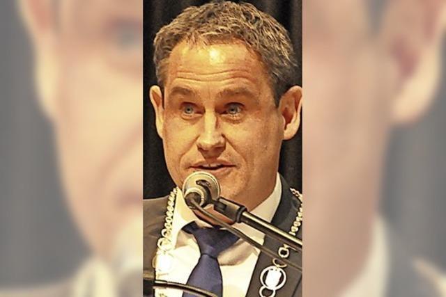 Die Haushaltsrede von Bürgermeister Dirk Harscher