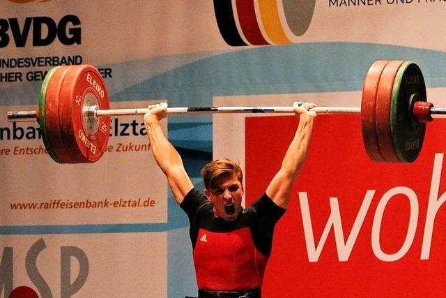 Moritz Huber nimmt acht Kilo ab und wird deutscher Meister