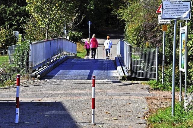 Das Hickhack um die Wiesenbrücke in Schopfheim-Fahrnau hat ein Ende