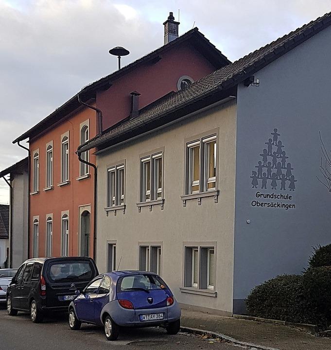 Die Grundschule in Obersäckingen platz...ste Grundschule gebaut werden müssen.   | Foto: Axel Kremp