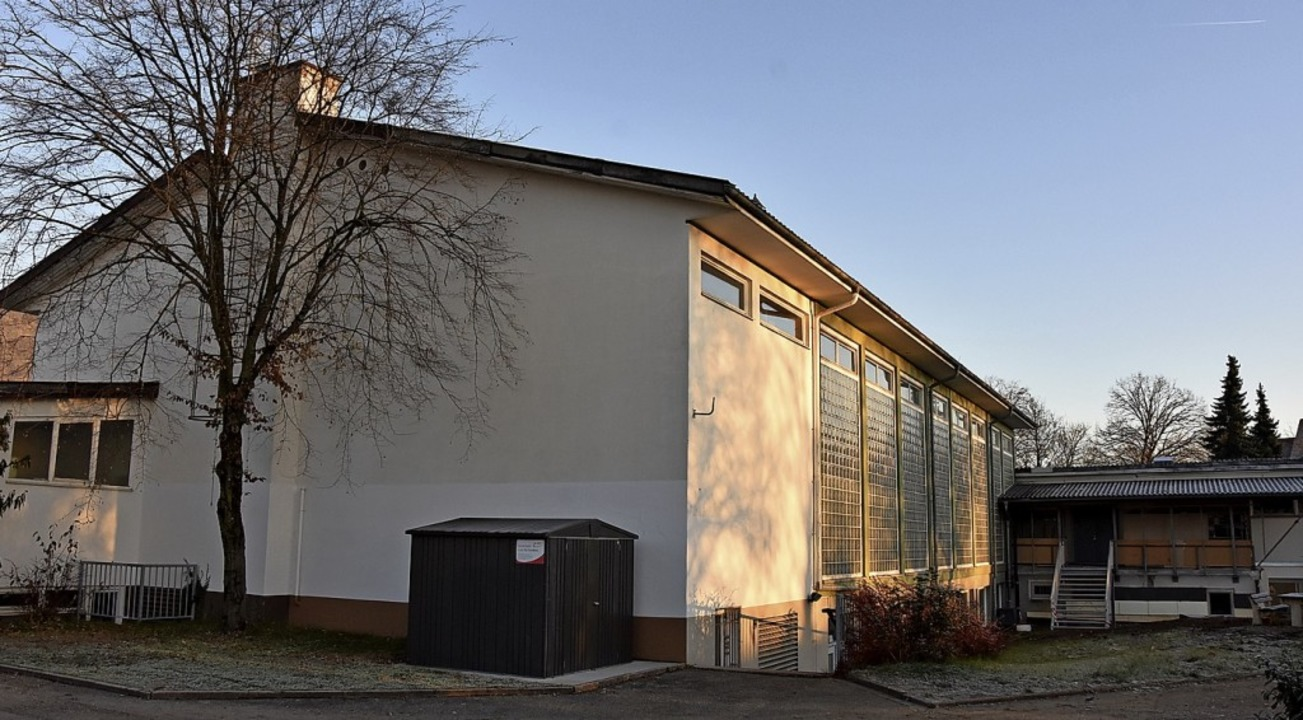 Die Sanierung der Scheffelhalle wird i...a soll  aber nicht vergessen bleiben.     Foto: Heinz und Monika Vollmar