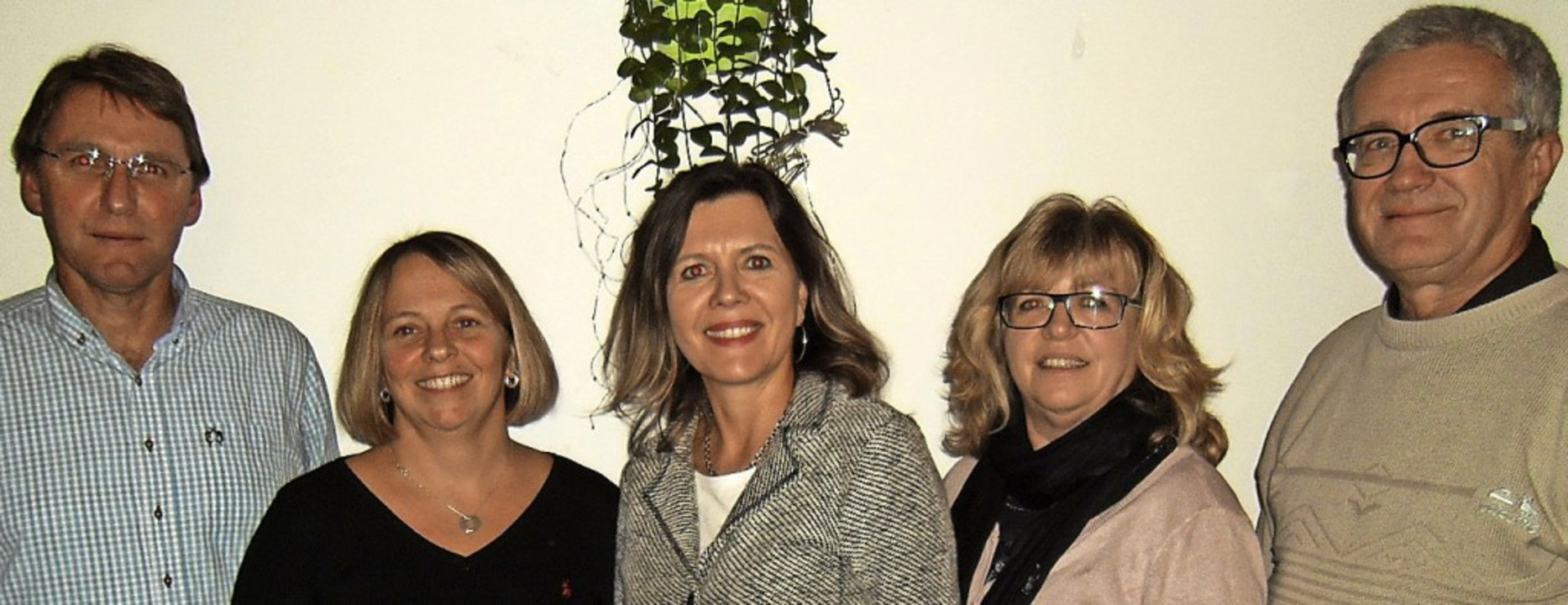 Im neu formierten Vorstand des TC Wehr...gusa, Kirsten Thoma und Peter Scherzer    Foto: Ernst Brugger