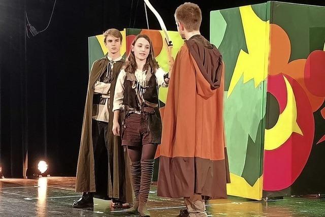 Robin Hood mit viel Freude gespielt
