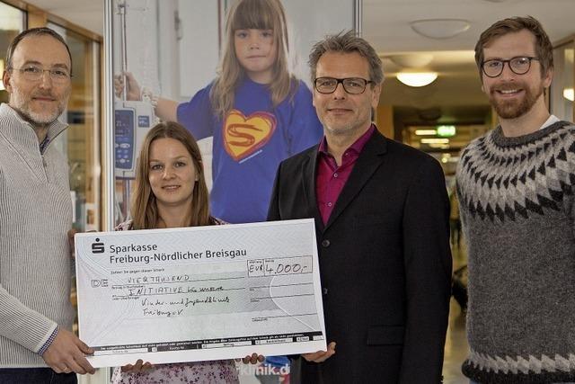 4000 Euro für Kinderklinik-Initiative