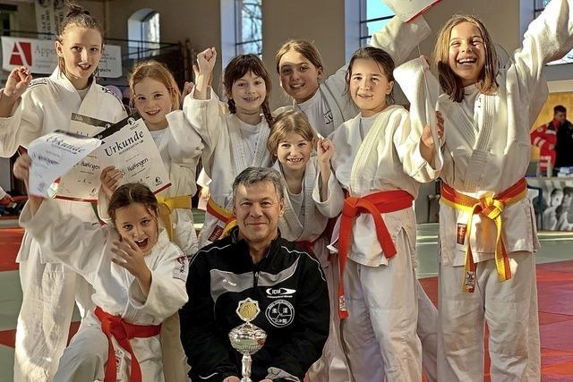Haltinger Judomädchen sind die besten im Land