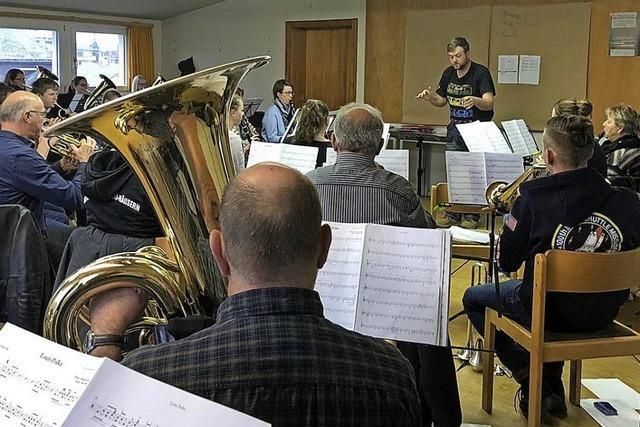 Musiker bereiten sich intensiv vor