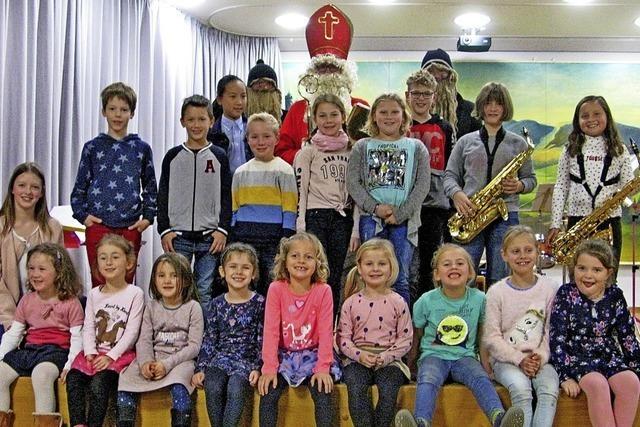 Starken Applaus für den musikalischen Nachwuchs