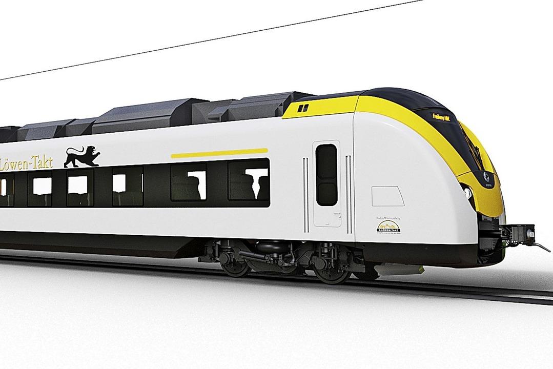 Diese neuen Züge verkehren bald zwischen Hochschwarzwald und Kaiserstuhl  | Foto: bz